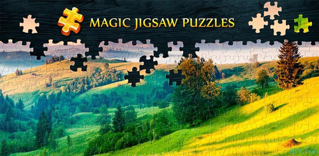 """دانلود Magic Jigsaw Puzzles 6.2.9 – بازی فکری """"پازل جادویی"""" اندروید + مود"""