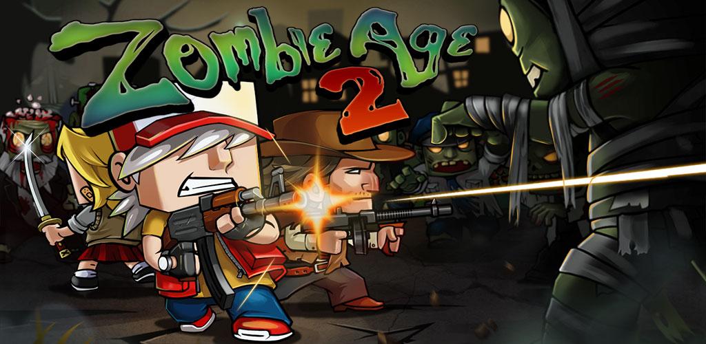 """دانلود Zombie Age 2: The Last Stand 1.3.1 – بازی اکشن """"عصر زامبی ۲"""" اندروید + مود"""