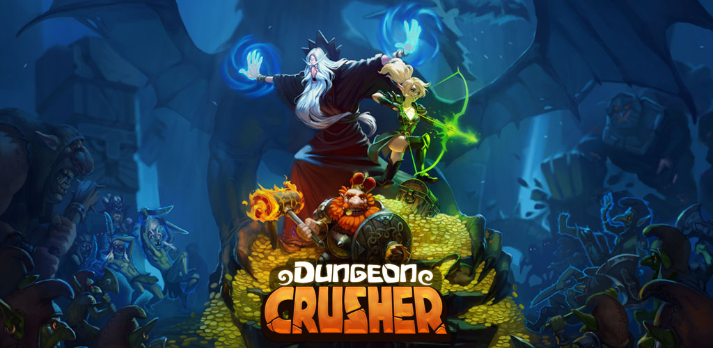 """دانلود Dungeon Crusher: Soul Hunters 5.1.8 – بازی نقش آفرینی """"نابود کنندگان سیاهچاله: شکارچیان روح"""" اندروید!"""