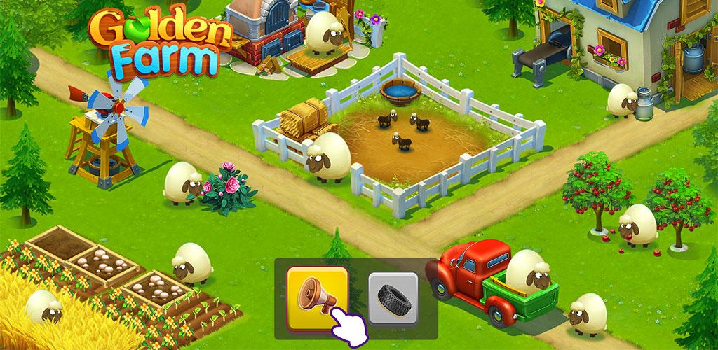 """دانلود Golden Farm 1.49.33 – بازی مزرعه داری پرطرفدار و زیبا """"مزرعه طلایی"""" اندروید"""