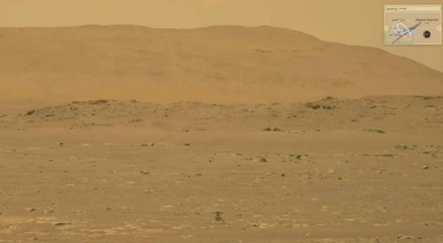 اولین پرواز تاریخساز هلیکوپتر مریخی نبوغ با موفقیت انجام شد + ویدیو