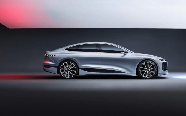 تصاویر و مشخصات خودرو مفهومی آئودی A6 e-tron منتشر شد