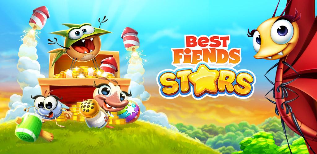 """دانلود Best Fiends Stars 2.8.2 – بازی تفننی-پازلی """"ستارگان بهترین دشمنان"""" اندروید + مود"""