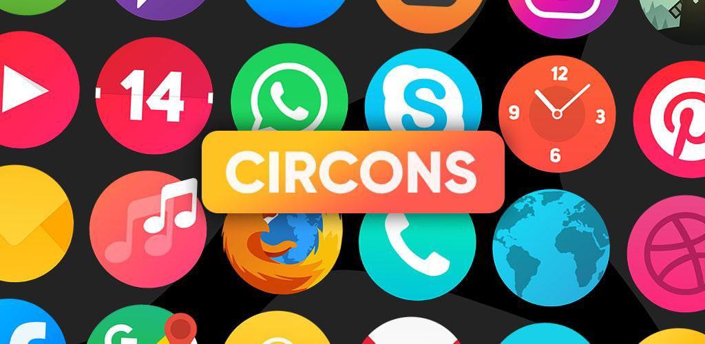 دانلود Circons Icon Pack – Colorful Circle Icons 5.9 – آیکون پک مدرن و رنگارنگ دایره ای اندروید!
