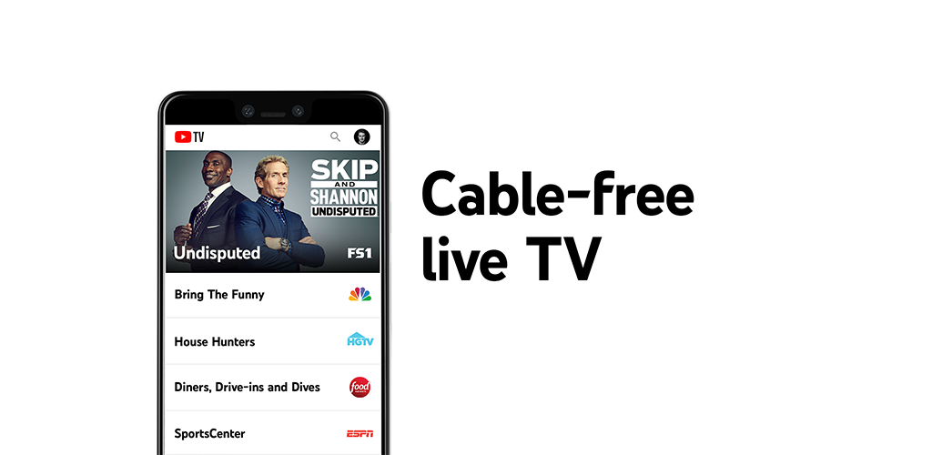 دانلود YouTube TV – Watch & Record Live TV 5.11.1 – اپلیکیشن تلویزیون اینترنتی گوگل مخصوص اندروید