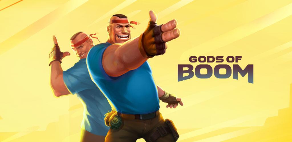 دانلود Gods of Boom – Online PvP Action 23.1.201 – بازی تیراندازی آنلاین اندروید!