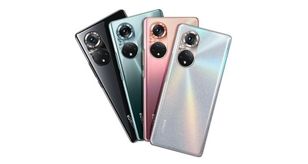 تصاویر رسمی سری آنر ۵۰ به خوبی طراحی این گوشیها را نشان میدهد
