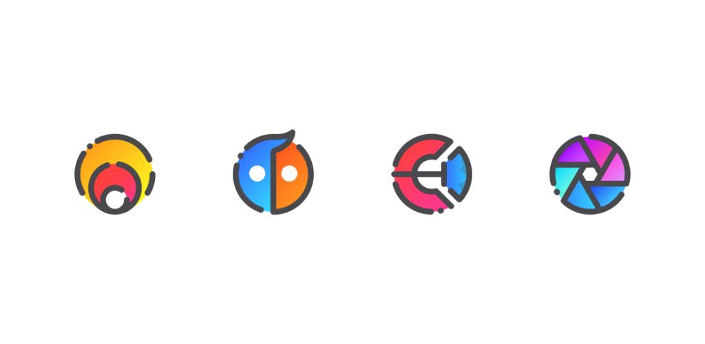 """دانلود GRADION – Icon Pack 2.5 – آیکون پک منحصر به فرد """"گرادیون"""" اندروید"""