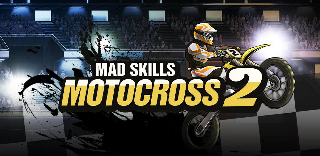 دانلود Mad Skills Motocross 2 2.26.3488 – بازی موتوکراس هیجان انگیز اندروید + مود