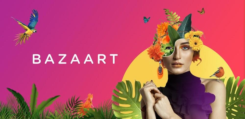 دانلود Bazaart Lite: Photo Editor & Graphic Design 1.3.8.3 – برنامه ویرایشگر گرافیکی و جادویی تصاویر اندروید