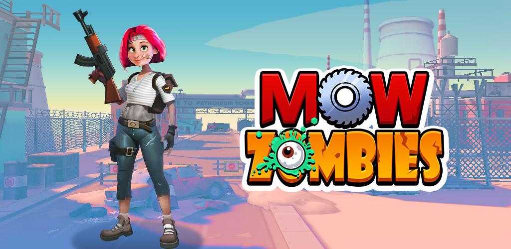 """دانلود Mow Zombies 1.6.11 – بازی اکشن-تفننی مهیج """"زامبی ها را نابود کن"""" اندروید + مود + دیتا"""