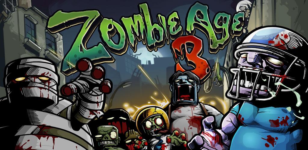 """دانلود Zombie Age 3 1.7.8 – بازی اکشن """"عصر زامبی ۳"""" اندروید + مود"""