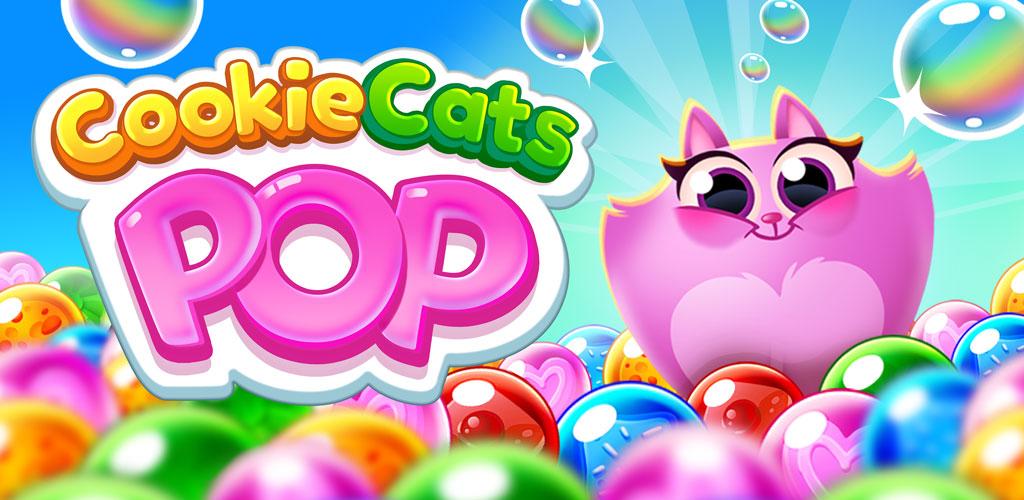 دانلود Cookie Cats Pop 1.50.3 – بازی پازل گربه های کلوچه خور اندروید + مود