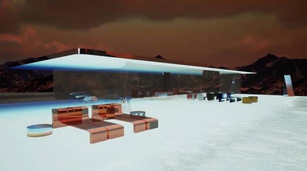 خانه مریخی