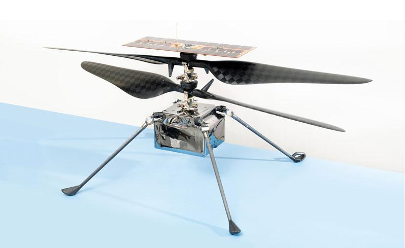 با فرود کاوشگر استقامت روی مریخ حالا ناسا یک هلیکوپتر در این سیاره دارد