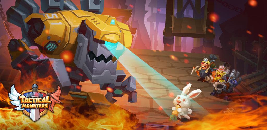 دانلود Tactical Monsters Rumble Arena 1.19.2 – بازی استراتژی پرطرفدار نبرد هیولا ها اندروید!