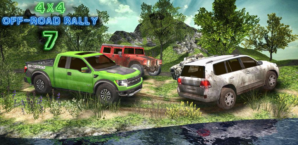 """دانلود ۴×۴ Off-Road Rally 7 6.1 – بازی ریسینگ """"رانندگی در جاده خاکی"""" اندروید + مود"""