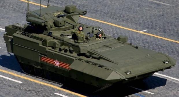 نگاهی به خودروی زرهی تی-۱۵ آرماتا ؛ ماشین جنگی غول پیکر روسی+عکس