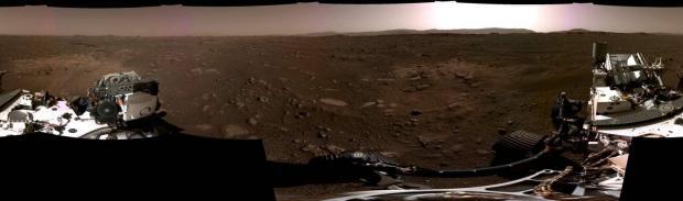 انتشار اولین صدای ضبط شده از مریخ و تصاویر ۳۶۰ درجه کاوشگر استقامت ناسا