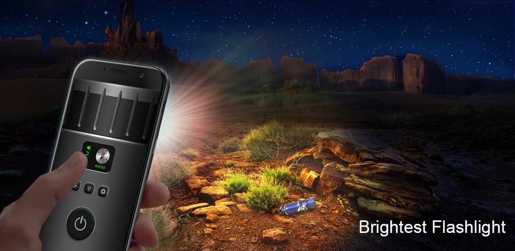 دانلود Super-Bright LED Flashlight 12.0.1 – چراغ قوه پر امکانات و خاص اندروید!