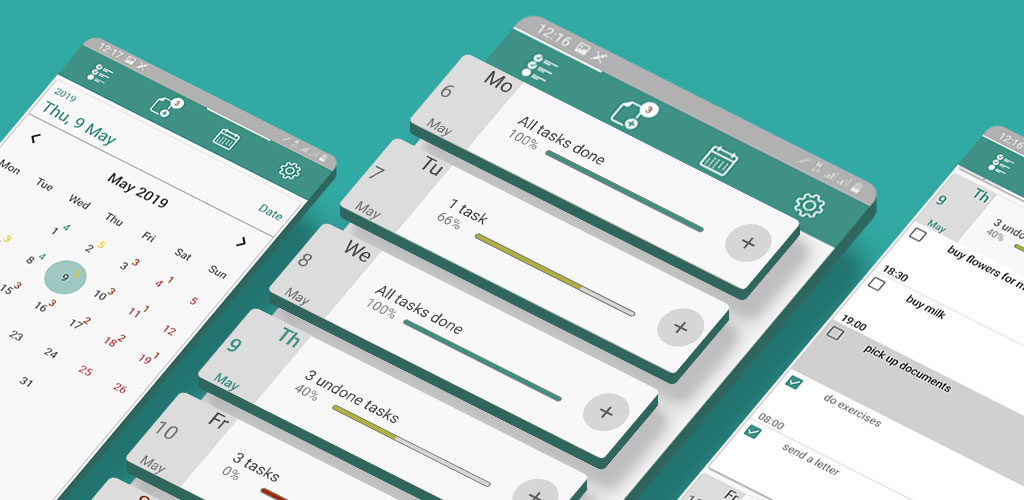 دانلود My Tasks: scheduler, daily planner Full 5.5.0 – اپلیکیشن برنامه ریزی کارهای روزانه مخصوص اندروید