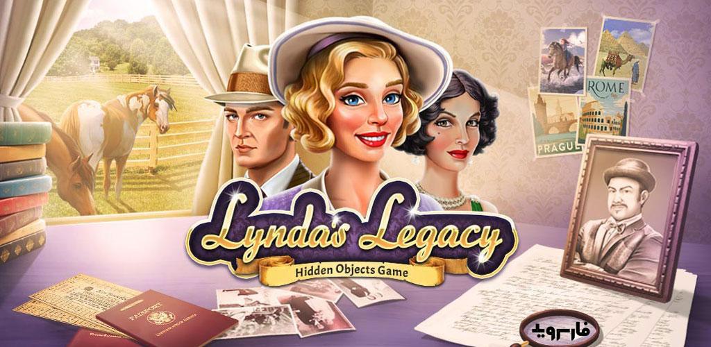 """دانلود Lynda's Legacy – Hidden Objects 1.2.2 – بازی ماجراجویی """"میراث لیندا – اشیاء پنهان"""" اندروید + مود"""