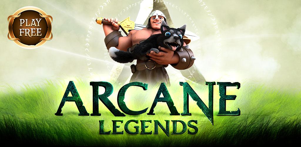 """دانلود Arcane Legends MMO-Action RPG 2.7.21 – بازی نقش آفرینی """"افسانه های سری"""" اندروید"""