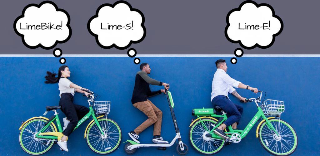 دانلود Lime – Your Ride Anytime 2.131.1 – اپلیکیشن لایم برای اجاره دوچرخه و اسکوتر مخصوص اندروید