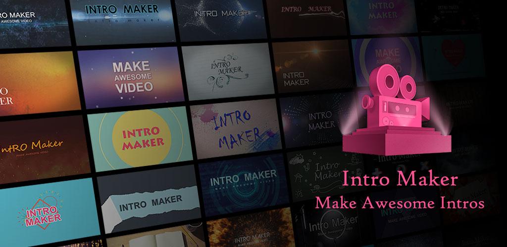 دانلود Intro Maker – music intro video editor VIP 3.8.1 – اپلیکیشن ساخت اینترو برای کلیپ های یوتیوب اندروید